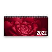 Tischkalender 2022 XL - Blume, rosa