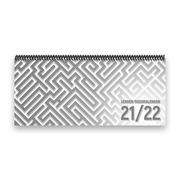 Lehrer-Tischkalender 2021/22 XL - Labyrinth, grau
