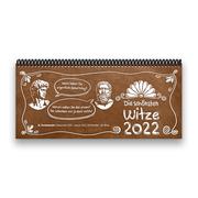 Tischkalender 2022 XL - Die schönsten Witze, 1 Woche - 2 Seiten