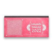 Labyrinth-Tischkalender 2022 XL - 1 Woche - 2 Seiten