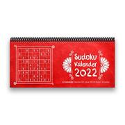 Sudoku-Tischkalender 2022 XL - 1 Woche - 2 Seiten