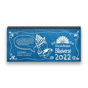 Tischkalender 2022 XL-Die schönsten Bibelverse - 1 Woche - 2 Seiten