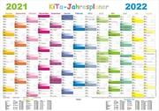 Kita-Jahresplaner 2021/2022-Set