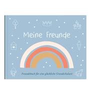Freundebuch blau 'Meine Freunde' - Cover