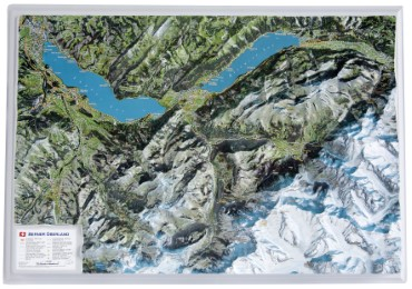 Berner Oberland ohne Rahmen 1:100 000
