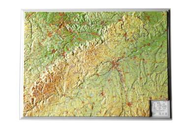 Relief Schwäbische Alb, klein