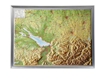 Relief Allgäu Bodensee - Cover