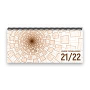 Lehrer-Tischkalender 2021/22 XL - Tunnel, braun