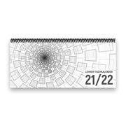 Lehrer-Tischkalender 2021/22 XL - Tunnel, grau