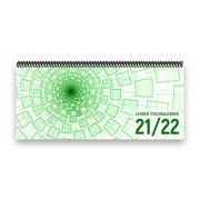 Lehrer-Tischkalender 2021/22 XL - Tunnel, grün