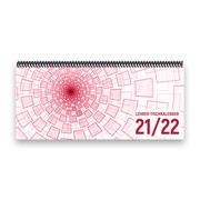 Lehrer-Tischkalender 2021/22 XL - Tunnel, rosa