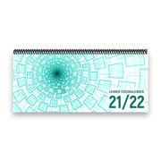 Lehrer-Tischkalender 2021/22 XL - Tunnel, türkis