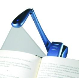 Clip-on LED Booklight 'Blau' - Cover