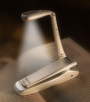 Clip-on LED Booklight 'Silber'