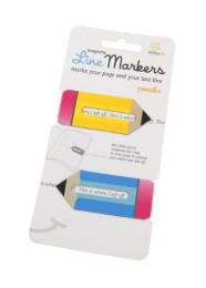 Line Markers Pencils - Magnetische Lesezeichen