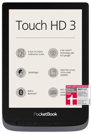 PocketBook E-Book-Reader Touch HD 3 metallic grey (metallic grau)