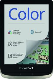 PocketBook E-Book-Reader Color moon silver (silber grau)