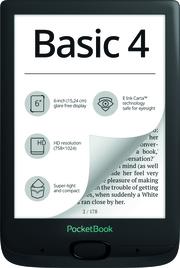 PocketBook E-Book-Reader Basic 4 black (schwarz)