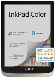 PocketBook E-Book-Reader InkPad Color moon silver (hellgrau)