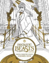 Fantastic Beasts and Where to Find Them - Magical Characters and Places Coloring Book