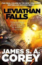 Leviathan Falls - Cover