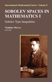 Sobolev Spaces in Mathematics I