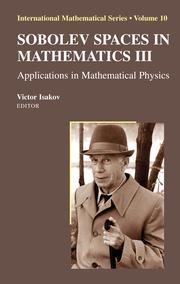 Sobolev Spaces in Mathematics III