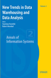 New Trends in Data Warehousing and Data Analysis