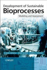 Development of Sustainable Bioprocesses