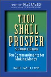Thou Shall Prosper