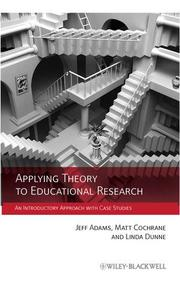 Applying Theory to Educational Research
