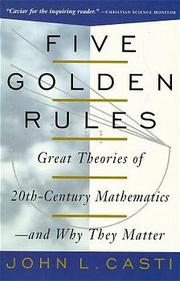 Five Golden Rules - Cover