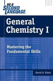 General Chemistry I as a Second Language