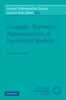 Auslander-Buchweitz Approximations of Equivariant Modules