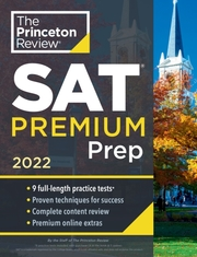 The Princeton Review SAT Premium Prep 2022