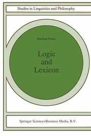 Logic and Lexicon
