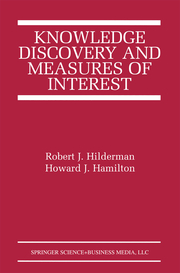 Knowledge Discovery and Measures of Interest