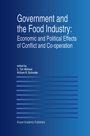 Government and the Food Industry: Economic and Political Effects of Conflict and Cooperation