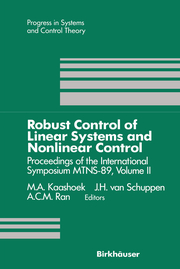 Proceedings of the International Symposium MTNS-89