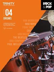 Trinity Rock and Pop Drums Grade 4