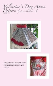Valentine's Day Apron Pattern - Cover