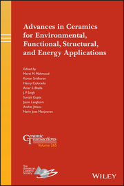 Advances in Ceramics for Environmental, Functional, Structural, and Energy Applications
