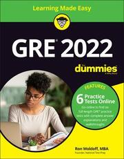 GRE 2022 For Dummies with Online Practice