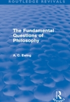 Fundamental Questions of Philosophy (Routledge Revivals)
