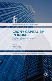 Crony Capitalism in India - Cover