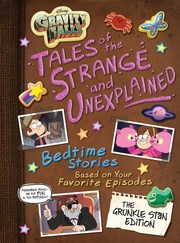 Disney Gravity Falls - Tales of the Strange and Unexplained - Cover
