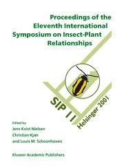 Proceedings of the Eleventh International Symposium on Insect-Plant Relationships