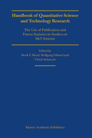 Handbook of Quantitive Science and Technology Research