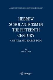 Hebrew Scholasticism in the Fifteenth Century