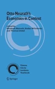 Otto Neurath's Economics in Context